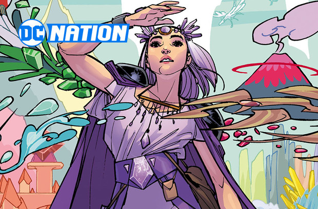 Amy Reeder Takes Us Back to Gemworld with Amethyst's Latest Adventure