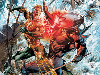 AQUAMAN #10 cover