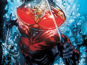 AQUAMAN #12 cover