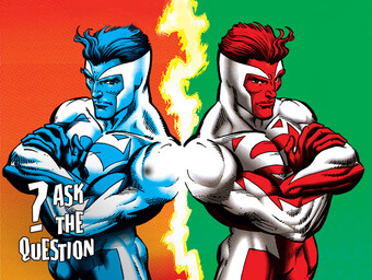 ASK...THE QUESTION: What's the Deal with the Red and Blue Superman?