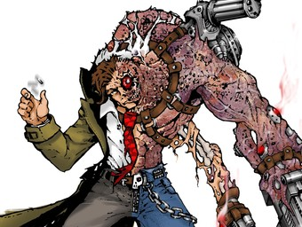 Dreaming Up a Nightmare: Designing Atomic Two-Face