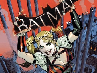 EXCLUSIVE: First Look at Batman: Arkham Knight's Harley Quinn Cover