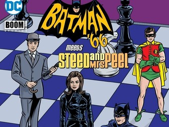 Batman '66 Meets Steed and Mrs. Peel: Ian Edginton and Matthew Dow Smith Unite Two TV Icons
