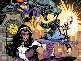 Sisters in Crime Fighting: Julie and Shawna Benson Guide Batgirl and the Birds of Prey