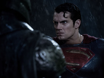 Superman Gets Angry in New Batman v Superman Images