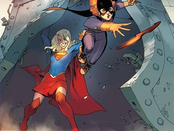 Batgirl and Supergirl Through The Multiverse