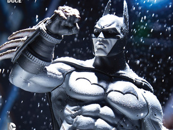 First Look at Batman: Arkham Unhinged's DC Collectibles Variant Cover
