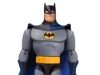 Batman's Animated Adventures Continue with New Figures and Comics