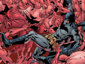 First Look: Batman Fights His Way Out of Arkham