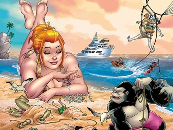EXCLUSIVE: Hijinks Abound in DC's New Beach Blanket Bad Guys Special