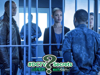 "The #DCTV Secrets of ARROW: Ep 4.11 ""A.W.O.L."""
