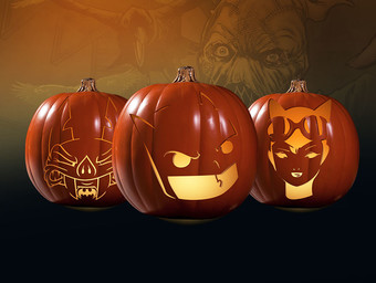 Carving a Collectible: Three Artist Alley Pumpkin Stencils