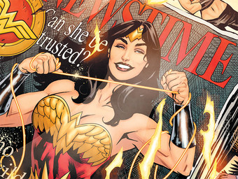 Morrison and Paquette Discuss Marston, Doctor Psycho and Wonder Woman: Earth One