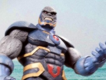 Caption This!: Darkseid Deluxe and Parademon Action Figures