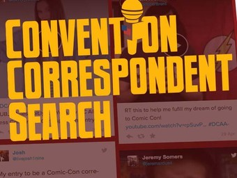 DC All Access Convention Correspondent Search