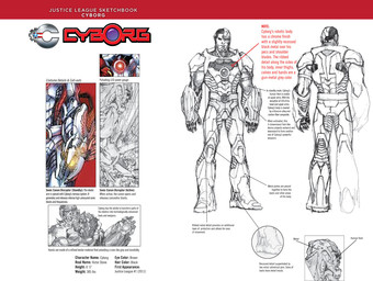 Justice League Sketchbook: Cyborg
