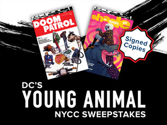 All-New Chance to Win for DC's Young Animal Fans!