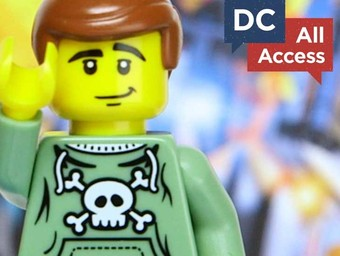 DC All Access: Lights, Camera...LEGOs!!!