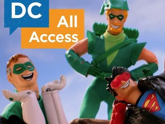 DC All Access Does the Robot!