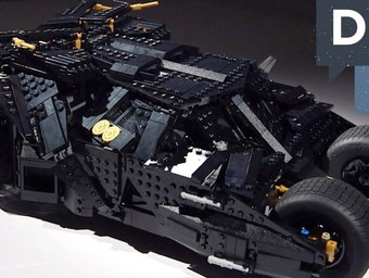 Win a LEGO Dark Knight Tumbler From DC All Access!