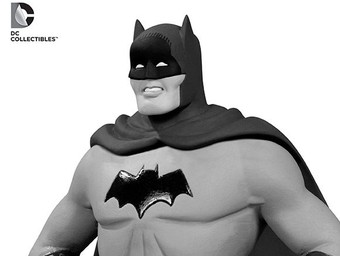 Collectible Close-Up: Batman Black and White Statues by Dick Sprang