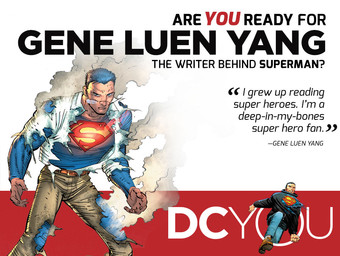 Are You Ready for Superman's Gene Luen Yang?