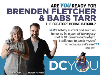 Are You Ready for Batgirl's Brenden Fletcher and Babs Tarr