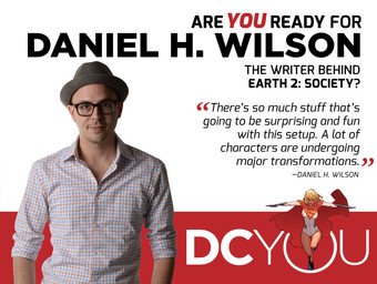 Are You Ready for Earth 2: Society's Daniel H. Wilson