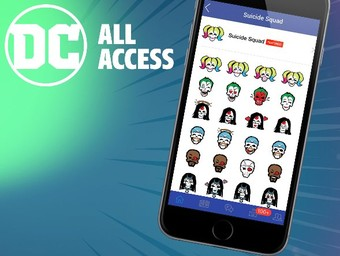 New Suicide Squad Emoji Pack: Step by Step