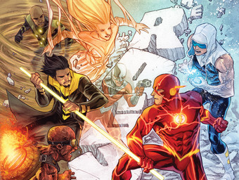 THE FLASH ANNUAL #1 cover