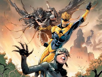 First Look: Catwoman Teams with Booster Gold