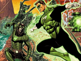 First Look: Green Lantern Takes on the Dawnbreaker
