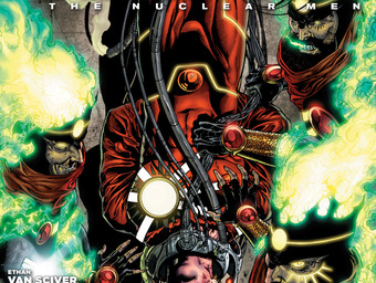 THE FURY OF FIRESTORM: THE NUCLEAR MEN #7 cover