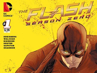 EXCLUSIVE: First Look at the Arrow Season 2.5 and Flash: Season Zero Variant Covers