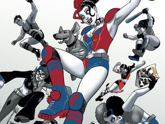 Quinn for a Day: Download a Free Harley Quinn Mask