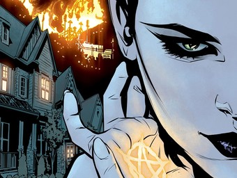 Blood and Marriage: Ben Blacker and Mirka Andolfo Talk Hex Wives