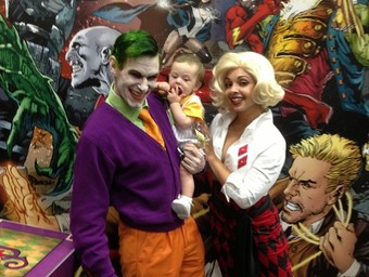 From the SDCC Floor: Joker...and Son?!