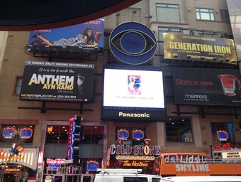 THE SANDMAN: OVERTURE #1 Commercial Appears on Times Square Jumbotron