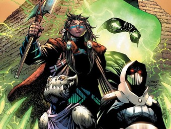 New Age of DC Heroes: Welcome to the Immortal Men, Caden Park
