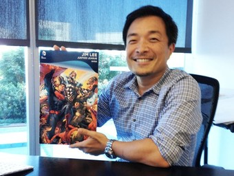 Win a Justice League Card Signed by Jim Lee!