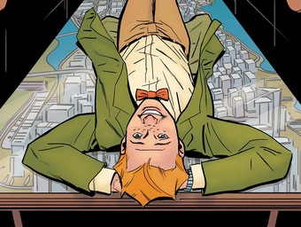 First Look: Superman's Pal Jimmy Olsen Launches...into Space!