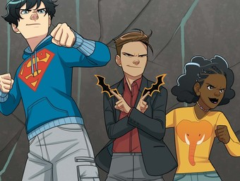 Justice is for the Young in Super Sons: The Polarshield Project