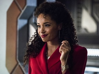 Legends of Tomorrow's Olivia Swann Tempts Fate on the Waverider