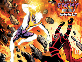 THE RAY #4 cover