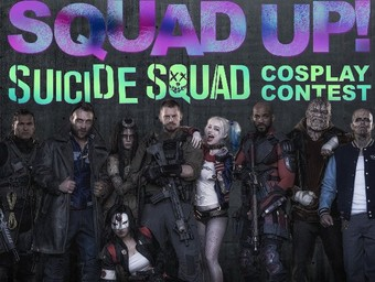 The Squad Up! Suicide Squad Cosplay Contest Voting Has Begun!