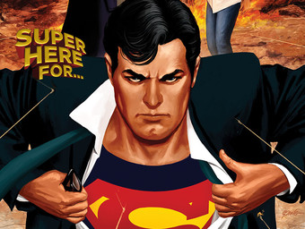 Super Here For…Superman Quietly Owning Batman