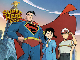 Super Here For...Superman Standing Against Hatred