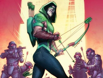 This Just Happened: Green Arrow Sees Red