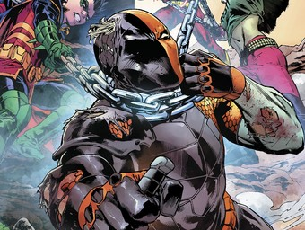 First Look: The Teen Titans Target Deathstroke