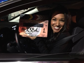 The Flash: On the Set With Candice Patton